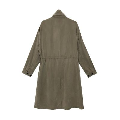 casual coat khaki